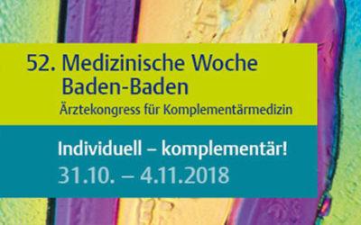 Vortragstagung der Deutschen Gesellschaft für Ayurveda bei der Medizinischen Woche 2018