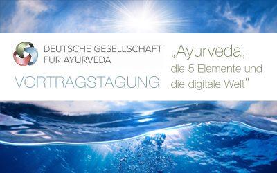 Vortragstagung der Deutschen Gesellschaft für Ayurveda